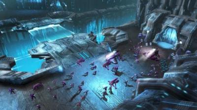 Screen ze hry Halo Wars