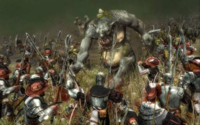 Screen ze hry Warhammer: Battle March