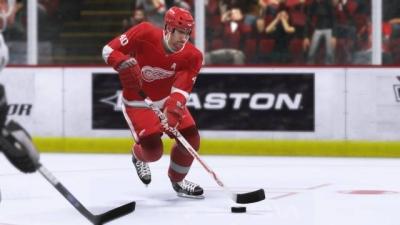 Screen ze hry NHL 2K9