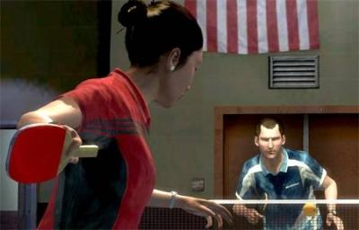 Screen ze hry Rockstar Games Presents Table Tennis