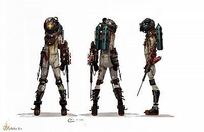 Artwork ke hře Bioshock 2