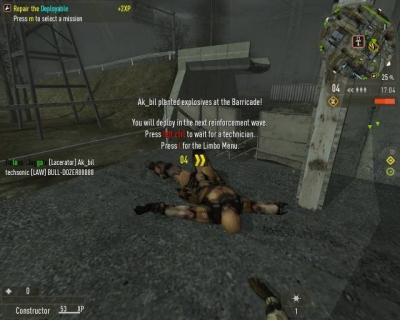 Screen ze hry Enemy Territory: Quake Wars