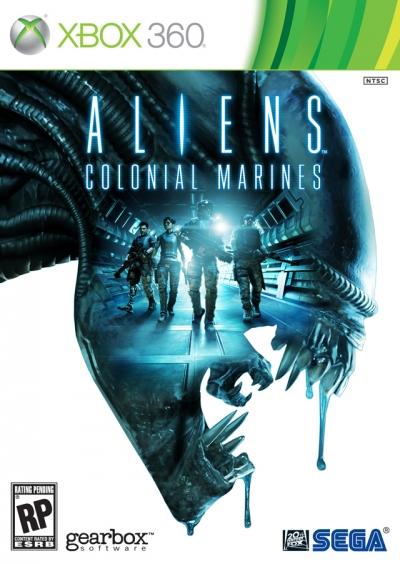 Obal hry Aliens: Colonial Marines