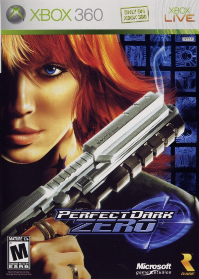 Obal hry Perfect Dark Zero