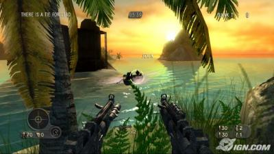 Screen ze hry Far Cry Instincts Predator