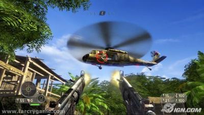 Screen ze hry Far Cry Instincts Predator