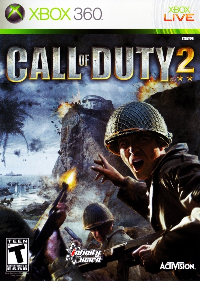 Obal hry Call of Duty 2