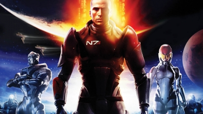 Artwork ke hře Mass Effect