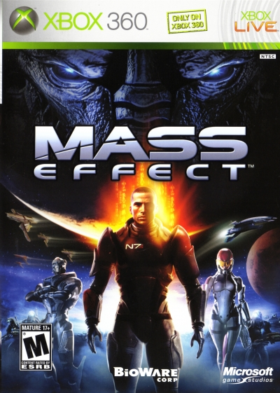 Obal hry Mass Effect