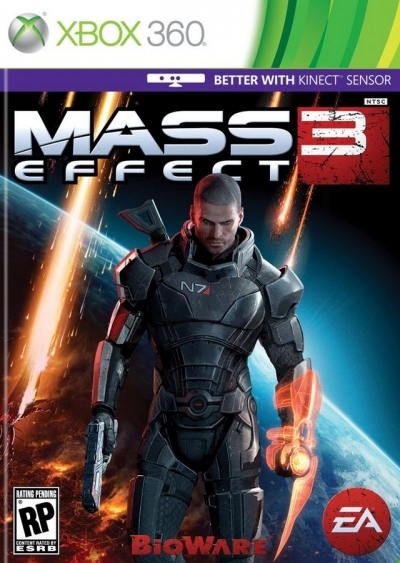 Obal hry Mass Effect 3