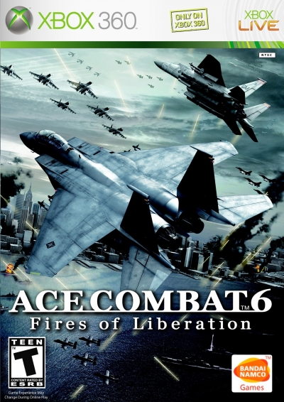 Obal hry Ace Combat 6: Fires of Liberation
