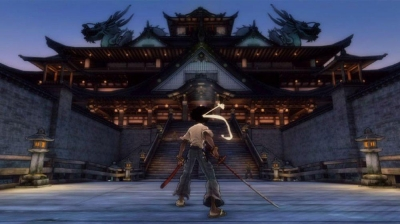 Screen ze hry Afro Samurai