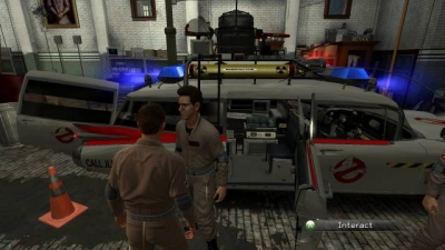 Screen ze hry Ghostbusters: The Video Game