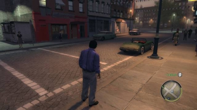 Screen ze hry Mafia II