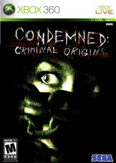 Obal hry Condemned: Criminal Origins