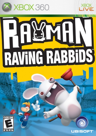 Obal hry Rayman Raving Rabbids