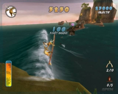 Screen ze hry Surf´s Up