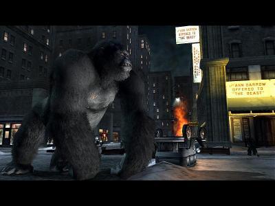 Screen ze hry Peter Jackson´s King Kong