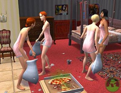 Screen ze hry The Sims 2
