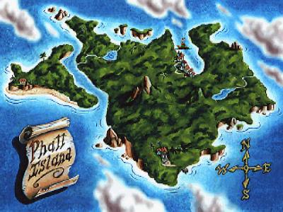 Screen ze hry Monkey Island 2: LeChuck´s Revenge