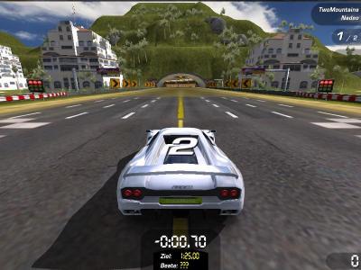 Screen ze hry Trackmania Sunrise