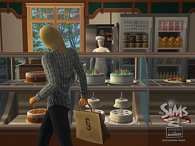 Screen ze hry The Sims 2: Open for Business
