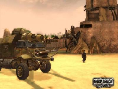 Screen ze hry Hard Truck: Apocalypse