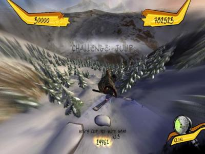 Screen ze hry Freak Out: Extreme Freeride