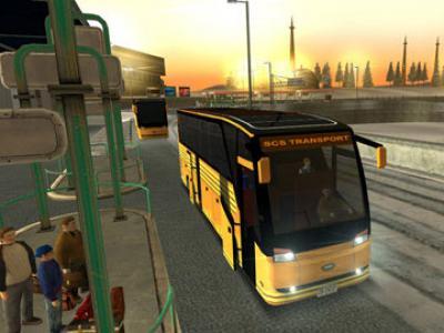 Screen ze hry Bus Driver