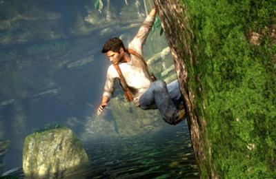 Screen ze hry Uncharted: Drake´s Fortune