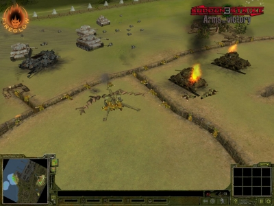 Screen ze hry Sudden Strike 3