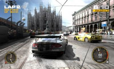 Screen ze hry Race Driver Grid