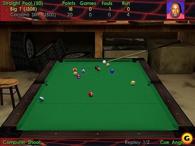 Screen Virtual Pool 3