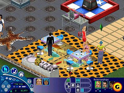 Screen ze hry The Sims: House Party