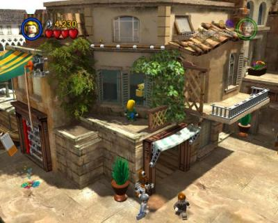Screen ze hry LEGO Indiana Jones: The Original Adventures