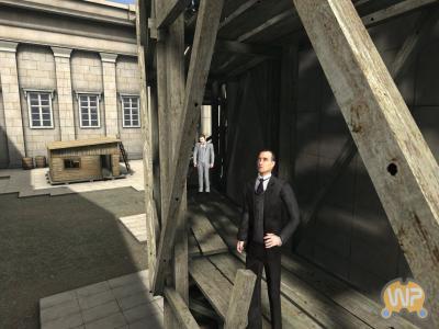 Screen ze hry Sherlock Holmes vs. Arséne Lupin
