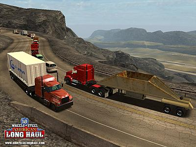Screen ze hry 18 Wheels of Steel: American Long Haul