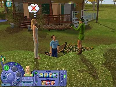 Screen ze hry The Sims 2: Free Time