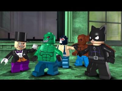 Screen ze hry LEGO Batman: The Videogame