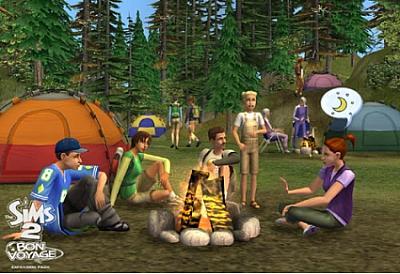Screen ze hry The Sims 2: Bon Voyage