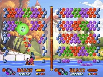 Screen ze hry Worms: Blast