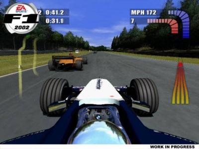 Screen ze hry F1 2002