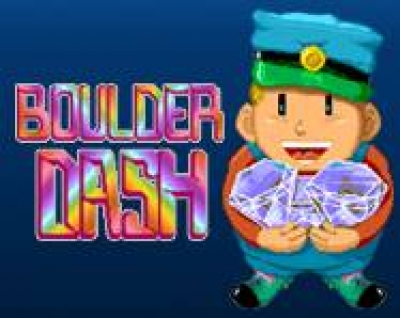 Screen ze hry Boulder Dash