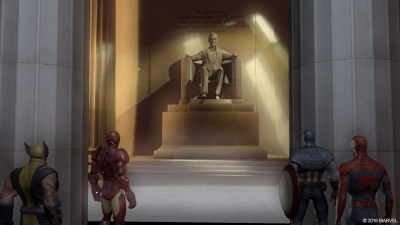 Screen ze hry Marvel: Ultimate Alliance 2