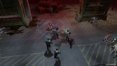 Screen ze hry Marvel: Ultimate Alliance 2