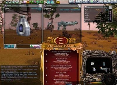 Artwork ke hře Entropia Universe