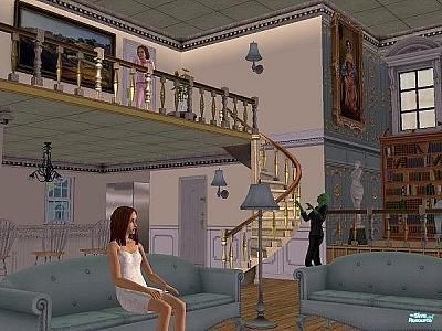 Screen ze hry The Sims 2: Život v bytě