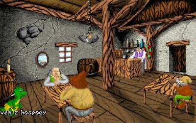 Screen ze hry Dračí Historie