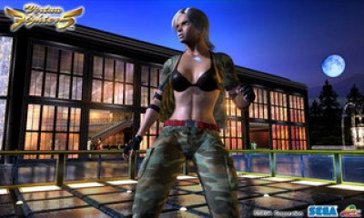 Screen ze hry Virtua Fighter 5