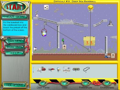 Screen ze hry Return of the Incredible Machine: Contraptions